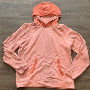 MENS lululemon orange hoodie
